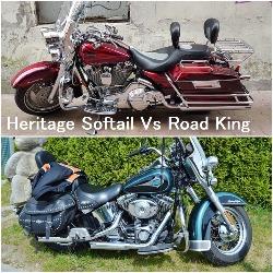 Heritage Softail Vs Road King
