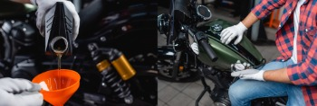 Harley Davidson Primary Oil Change