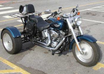 Harley Davidson Trike Cover